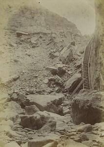 Iles Anglo Normandes Jersey le Trou du Diable Ancienne Photo 1900