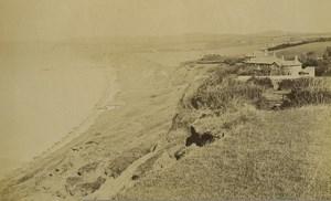 Royaume Uni Isle of Wight Totland Bay Ancienne Photo 1890