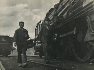 France WWII Documentary Ceux du Rail Prairie Prevenat Railway Trampus Photo 1942