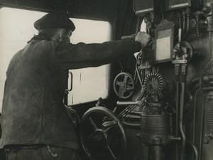 France WWII Documentary Ceux du Rail Mechanics Vialle Railway Trampus Photo 1942