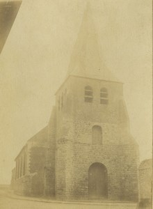 France Lille region Church Old Photo 1890
