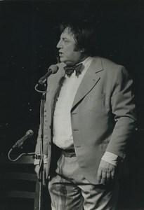 Belgium Standup Comedian Raymond Devos Old Photo 1960's