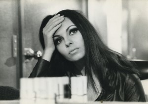 France actress Michele Mercier Macédoine Old Photo 1971