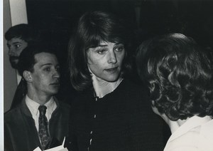 France actress Charlotte Rampling Old Photo 1970's