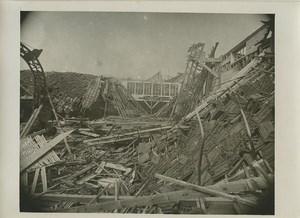 France Reims WWI Factory Destruction Old Photo Wentzell 1919 #4