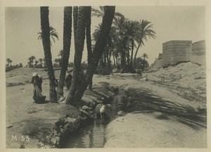 Morocco Marrakech daily life Washerwomen? Old Photo Felix 1930
