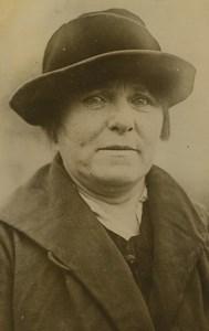 USA Somerville Witness Jane Gibson Hall-Mills murder case Old Press Photo 1926