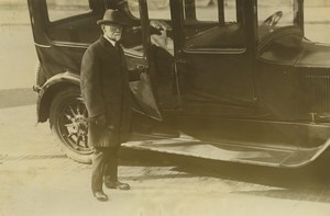 USA Charles E. Sawyer Homeopatic Physician to President Harding Press Photo 1923