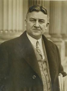 USA Washington John J. Blaine action against prohibition Old Press Photo 1930