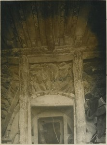 Underground Paris sewers catacombs  construction Old Photo 1932 #20