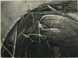 Paris Souterrain egouts catacombes Construction Ancienne Photo 1932 #25