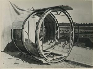 Paris Souterrain egouts catacombes Construction Ancienne Photo 1932 #26