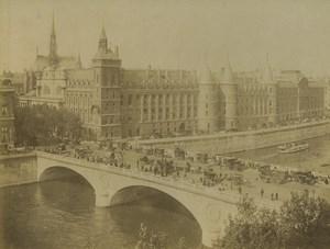 France Paris Palais de Justice Pont au Change Ancienne Photo Neurdein 1900
