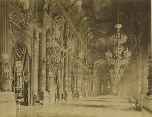 France Paris Foyer de l'Opera Ancienne Photo Neurdein 1900