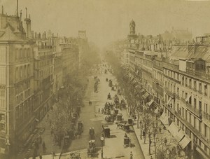 France Paris Boulevard des Italiens Studio Disderi Ancienne Photo Neurdein 1900