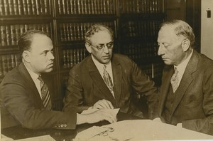 USA Chicago procés Richard Loeb & Nathan Leopold Ancienne Photo Presse 1924