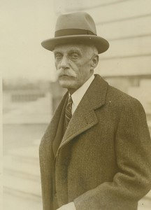 USA Secrétaire au tresor Andrew W. Mellon Teapot Dome Scandal Ancienne Photo Presse 1928