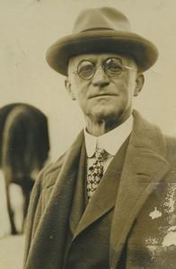 USA Rochester portrait of George Eastman Kodak Old Press Photo 1920's