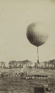 France Arras 3rd Engineer Regiment Military Ballooning Voelcker photo 1882 #15