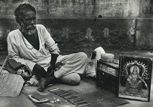 India Astrologer Old Photo Defossez 1970's