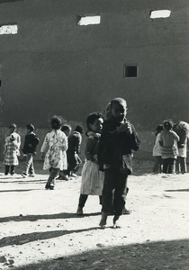 Morocco Taourirt young boys & Girls Old Photo Defossez 1970's