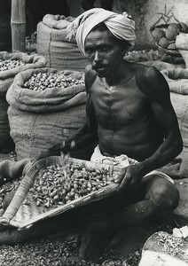 India Betel Street retailer Old Photo Defossez 1970's