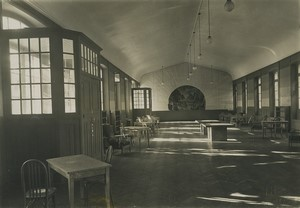 France Saint Cyr Military School Entertainment Hall? Old Photo Roosen 1930
