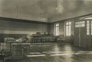 France Saint Cyr Military School Function Room? bar Old Photo Roosen 1930