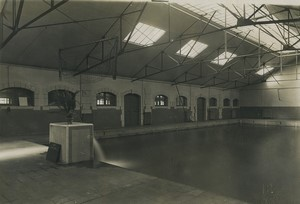 France Saint Cyr Military School Swimming Pool Old Photo Roosen 1930 #1