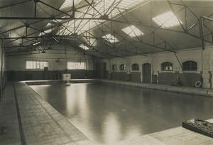 France Saint Cyr Military School Swimming Pool Old Photo Roosen 1930 #2