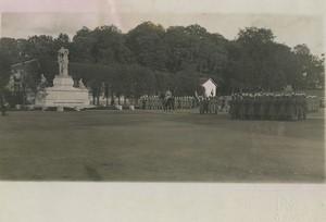 France Marshal Foch at Saint Cyr Military School Old Photo Roosen 1928