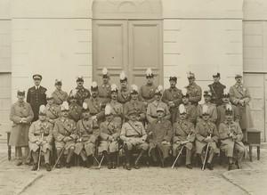 France Foch Class at Saint Cyr Military School Old Photo 1930