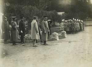 Visit of the Prince of Wales at the Saint Cyr Military School Old Photo 1926 #4