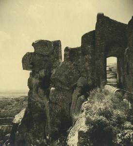 France Abbaye de Montmajour Ancienne Photo Amateur 1947 #7