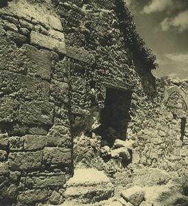 France Abbaye de Montmajour Ancienne Photo Amateur 1947 #10