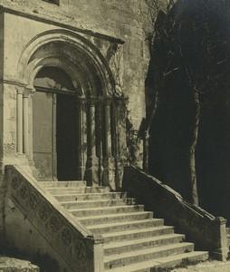 France Abbaye de Montmajour Ancienne Photo Amateur 1947 #12