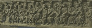 France Arles Musee Sarcophage de Concordius? Ancienne Photo Amateur 1947