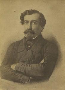 General de la Moriciere Defender of the Papal States Old Photo 1860