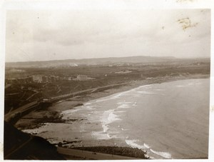 North Yorkshire Scarborough Seaside Coast Panorama old Amateur Photo 1900