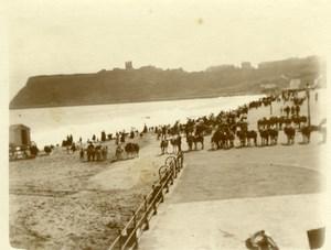 North Yorkshire Scarborough Belle Epoque Beach Holidays old Amateur Photo 1900
