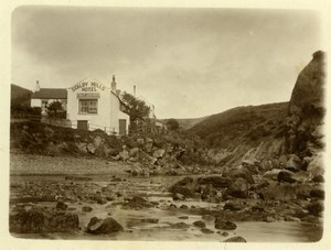 North Yorkshire Scarborough Holidays Scalby Mills Hotel old Amateur Photo 1900