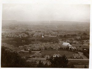 North Yorkshire Scarborough General View Panorama old Amateur Photo 1900