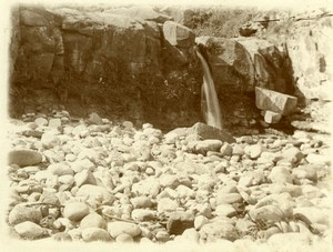 North Yorkshire Scarborough Seaside Coast Pebbles old Amateur Photo 1900