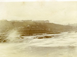 North Yorkshire Scarborough Coast Panorama Seaside old Amateur Photo 1900