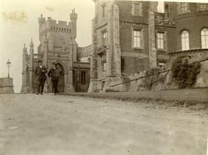 Yorkshire Medieval Castle near Scarborough ? Old Amateur Photo 1900