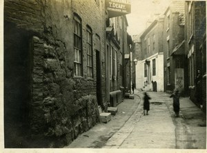 North Yorkshire Scarborough Street T. Deary Shop Holidays old Amateur Photo 1900