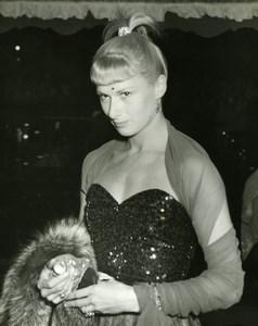 Actress Elizabeth Shelley The Magic Box Premiere Odeon London Press Photo 1951