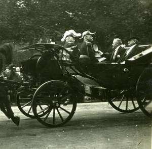 France WWI Victory Fete Poincare Marechal Joffre old SIP Photo 1919