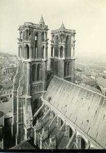 France Laon Cathedral Old Bereux Photo 1938