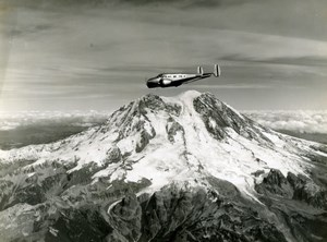 US Army Air Force 2nd Mapping Squadron Mt Rainier Washington Old photo 1940